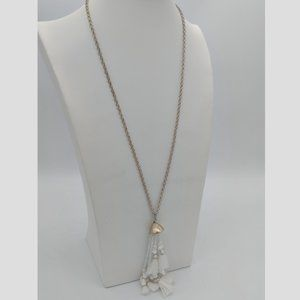 Urban Outfitters Long Fringe Necklace